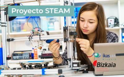 Colaboramos con el Proyecto STEAM para despertar la vocación científico-tecnológica de las jóvenes